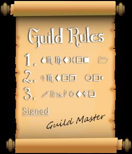 Guild Rules – World of Warcraft WordPress Templates